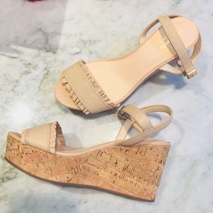 SALE♠️ NEW Kate Spade Tomas Leather Wedge Sandal 9